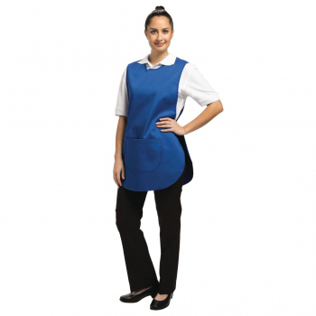 Unisex Tabard With Pocket Royal Blue