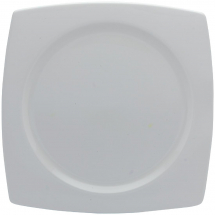Elia Glacier Fine China Square Plates 190mm