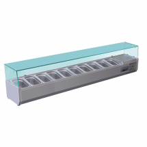 Polar Refrigerated Countertop Servery Prep Unit 10x 1/4GN
