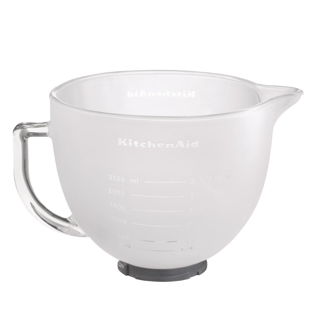KitchenAid 4.8Ltr Frosted Glass Bowl ref 5K5GBF