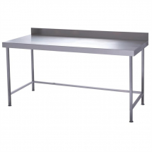 Parry Fully Welded Stainless Steel Wall Table 1200x600mm