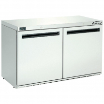 Williams Double Door Under Counter Fridge Stainless Steel 280Ltr HA280-SA