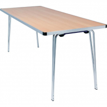 Gopak Contour Folding Table Beech 6ft