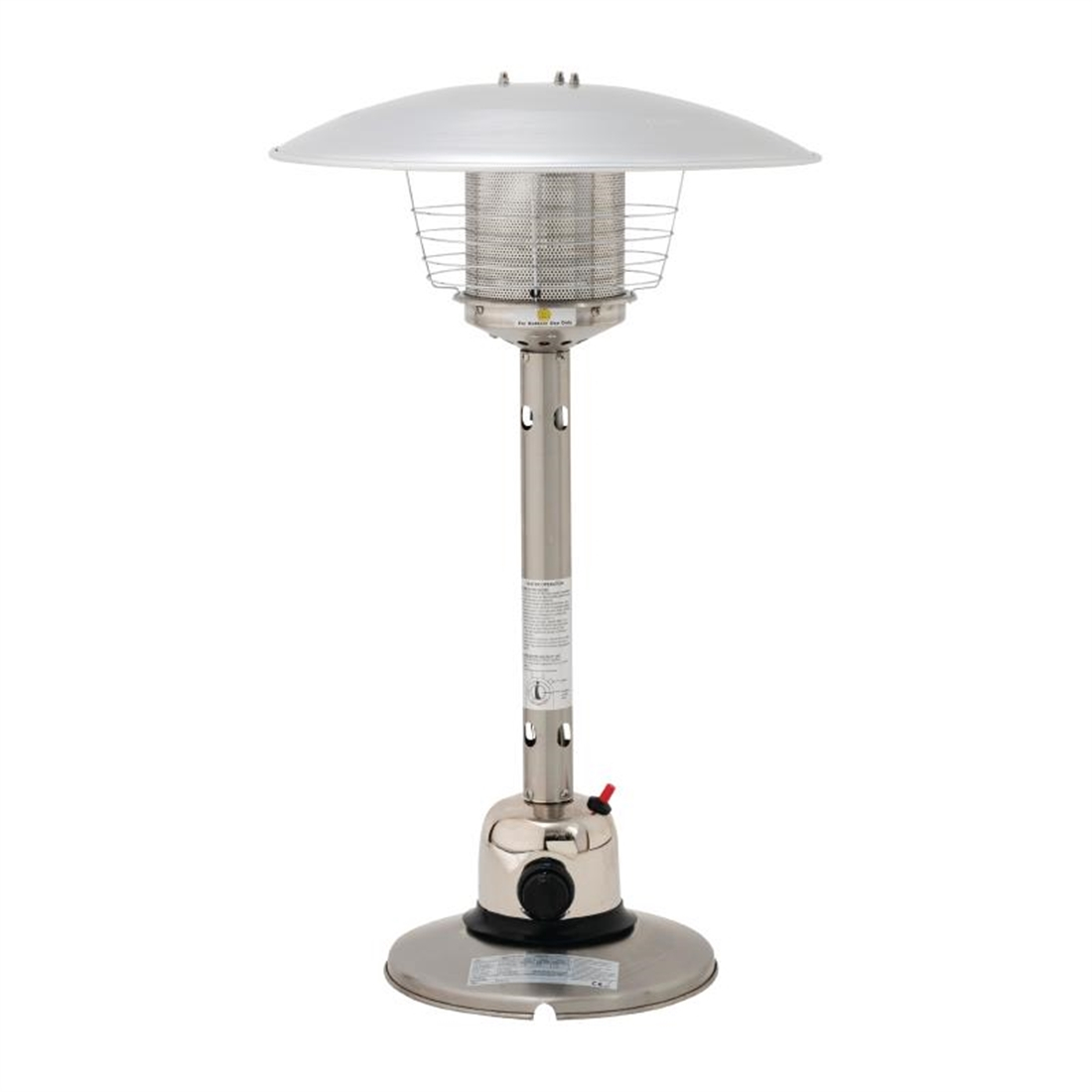 Lifestyle Sirocco Stainless Steel Table top Heater