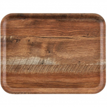 Cambro Madeira Tray Brown Oak 430mm