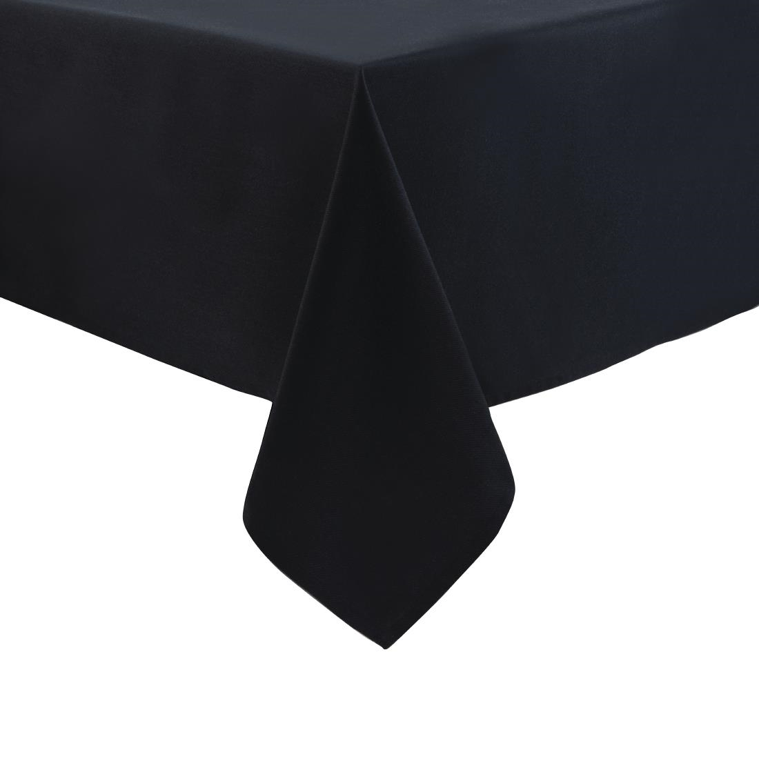 Mitre Essentials Occasions Tablecloth Black 2290 x 2290mm