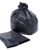 Refuse Sack - Black 18x29x39 Heavy Duty 15Kg 27mu